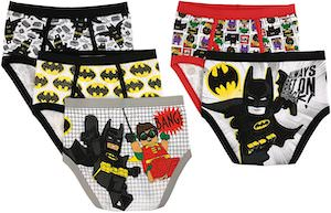 Boys LEGO Batman Underwear Set