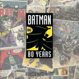 2020 Batman 80 years Wall Calendar