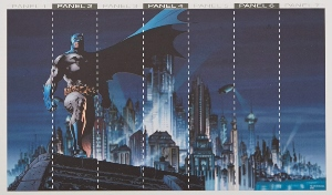 Batman Gotham City Wall Mural
