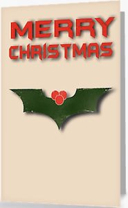 Batman Merry Christmas Greeting Card