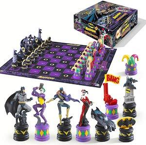 Batman vs The Joker Chess Set