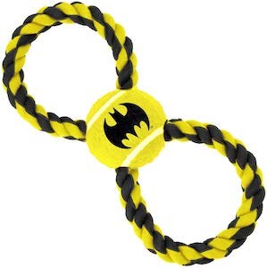 Batman Rope And Ball Dog Toy