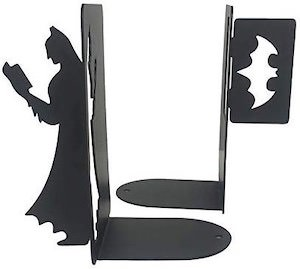 Batman And Logo Bookends
