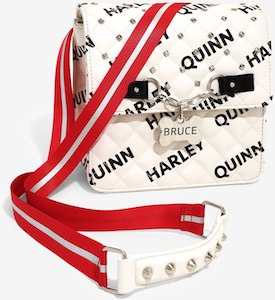 Bruce And Harley Quinn Convertible Bag