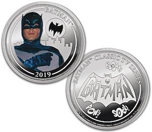 Classic Batman Coin