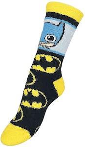 Batman Chibi Style Fuzzy Socks