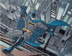 Batman Climbing A Building Puzzle