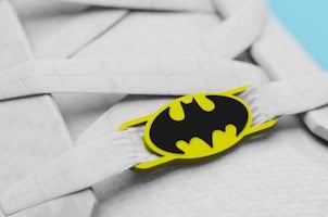 Batman Logo Lace Locks