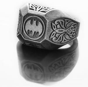 Men's Batman Ring