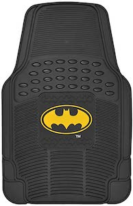 Rubber Batman Logo Car Floor Mats