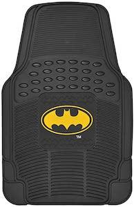 Rubber Batman Logo Car Floor Mats