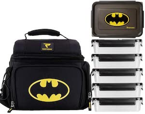Batman 6 Meal Lunch Set