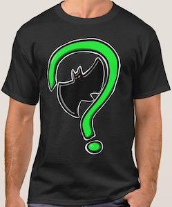 Riddler Meets Batman Logo T-Shirt