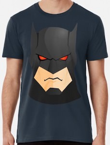 Batman's Face T-Shirt
