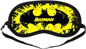 Batman Smash Logo Sleep Mask