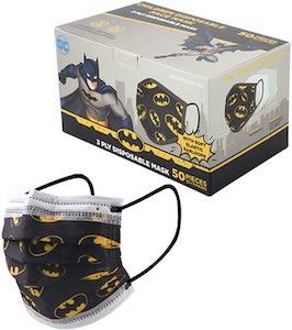 Kids Batman Face Masks