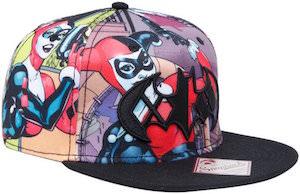 Harley Quinn Sublimation Print Hat