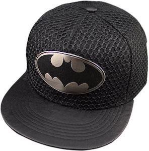 Batman Logo Cap With Mesh Looking Cover