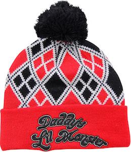 Harley Quinn Daddy's Lil Monster Beanie Hat