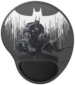 Black Batman Mouse Pad