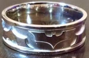 Batman Wedding Band
