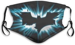 Bright Batman Logo Face Mask