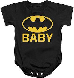 Baby Batman Logo Bodysuit